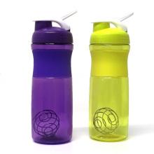 Protein Shaker Bottle Plastic, 500ML 760ML Water Drinking Bottle Sports Logo