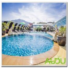 Audu Thailand Sunny Hotel Project Wicker Sun Lounger
