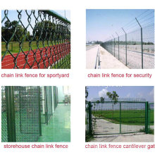 9 Gauge 2inch PVC Coated Chain Link Fence