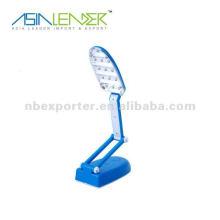 13-LED plegable luz de luz nocturna lámpara de lectura novedad libro luces