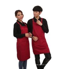 Customized adjustable neck tie cotton blended cotton apron
