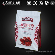 Bolsa de embalaje para alimentos para perros con cremallera para embalaje de alimentos para perros