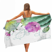 Tropical Plants Pattern, Sand Outdoor Travel Swim Towels