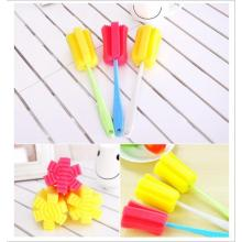 Colorful Baby Feeding Bottle Sponge Brush
