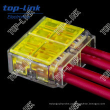 Push in Wire Joint Connector, isolamento descascando livre