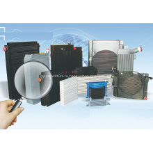 Алюминиевые пластинчатые охладители с воздушным охлаждением