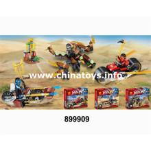 Bloque de construcción de los juguetes plásticos de la promoción DIY (899909)
