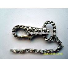 Rhinestone Cheap Metal Keychain,Custom made metal keychains