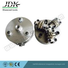 Diamond Rotary Bush Hammer for Litchi Surface