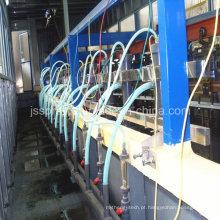 Linha de pintura eletroforética com sistema de filtro