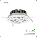 Profession 12X3w Recessed LED Ceiling Downlight for Watches Shop LC7212k