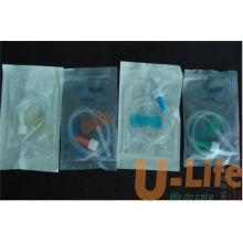 Aguja intravenosa médica desechable de la aguja de la aguja