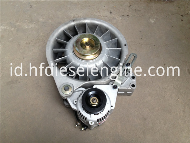 F1L511 fan alternator support assy