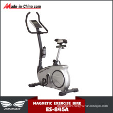Body Building Flywheel Upright Magnetic Bike with Monitor (ES-845A)