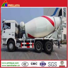 Maquinaria del mezclador del cemento semi del remolque / del mezclador de cemento