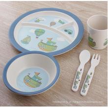 Hot-venda de bambu fibra crianças cozinha / Dinnerware (BC-BB-SU2006)