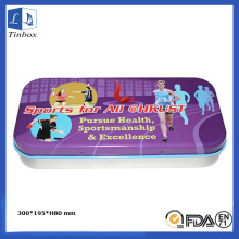Rectangular Art Paint Pencil Packaging Box