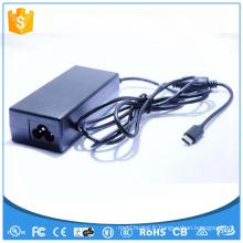 12V 5A Adaptateur d'alimentation AC DC Type C 60W Adaptateur de commutation UL CE FCC GS SAA FCC ROHS