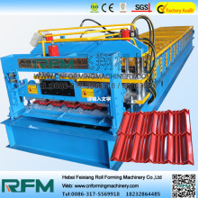 Glazed Aluminium Roofing Metal Roll Forming Machine