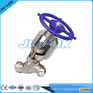 Válvula de esfera de pistón de acero forjado de alta calidad
