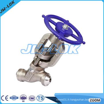 Soupape à piston en acier forgé de haute qualité