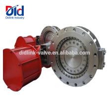 Operation Pneumatic Actuator Triple Small Stockist Stainless Steel Motorized Butterfly Valve Offset