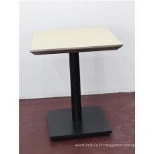Table à manger en bois de haute qualité pour restaurant-café (FOH-CXSC46)