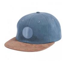 Hot Sale Snapback Caps avec patch en cuir