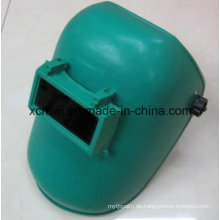 Niedrigste Marken von Schweißhelm mit Linsen, Blau Einfache Schweißmaske, PP Material Maske, Senior Schattierung Ebene Schweißen Linse Schweißen Masken
