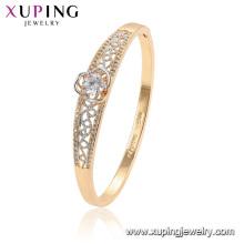 52089 brazaletes de moda de oro de aleación de cobre ambiental de mujeres Xuping