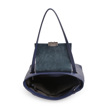Bolso de hombro Darley Medium Polly Soft Leather Blue