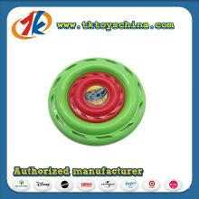 Frisbee plástico personalizado por atacado para o presente da promoção