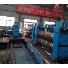 Línea de corte longitudinal de bobinas de acero de doble cabezal pesado