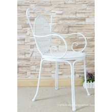 Handmade Indoor and Outdoor Wrought Iron Chair