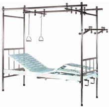 Нержавеющая сталь Три функции Ортопедия Больничная кровать