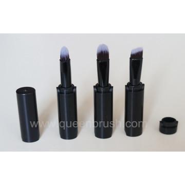 2014 novo estilo empilhável promocional conjunto de escova de maquiagem