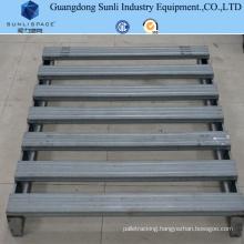 SGS Supplier Standard Size Galvanized Steel Pallet