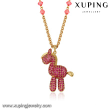 43302-Xuping jewelry Fashion Trendy Charming Necklace With Horse Shaped Pendant