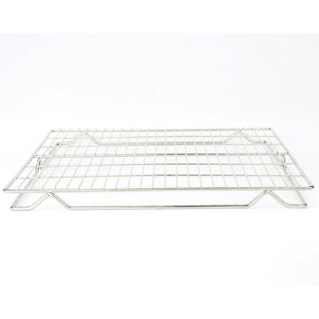 2021 new design Commercial  metal stainless steel oven cake bread cookie Heat-resistant barbecue cooling rack
