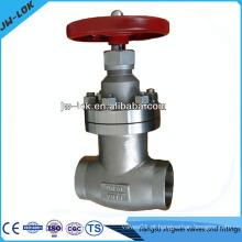 Válvula de globo forjada de aço inoxidável