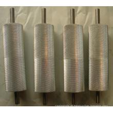 Eixo de metal de eixo de aço de usinagem e eixo de engrenagem