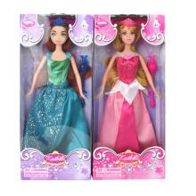 Muñeca de juguete de plástico encantadora chica favor para niños (10226295)