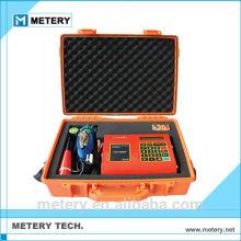 Medidor de fluxo ultra-sônico portátil