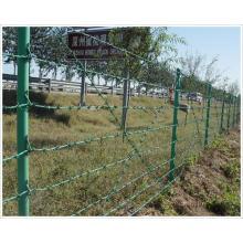 PVC-beschichteter Stacheldraht für Zaun (YB-Zaun 5)