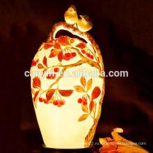 Осенняя декорация темы масса керамической фантазии высокие абажуры