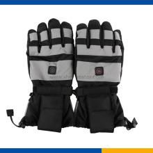 Three Temperature control Heated ski gloves