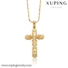 32017-Xuping Jewelry Jesus Faith Corss colgante