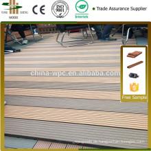 WPC Terrassendielen für Outdoor-Bodenbeläge Laminat