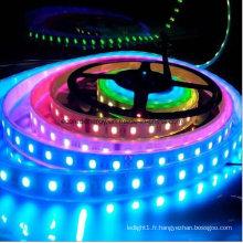 Bande de LED RVB IP68 60SMD3528 4.8W / M
