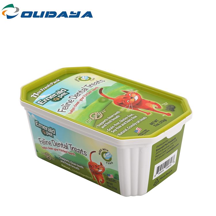 Rectangle Container For Pet Food